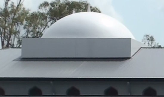 Neville Rd Mosque Dome