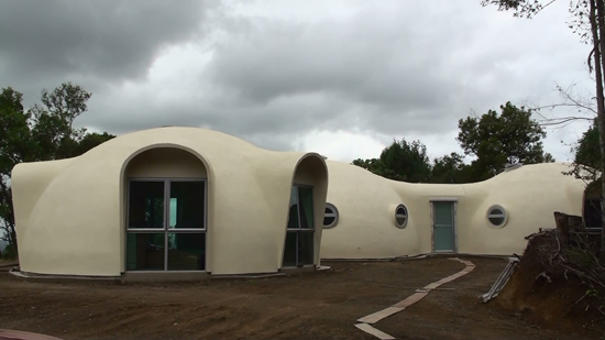 Three 8.0m dome home at Humchy, QLD.