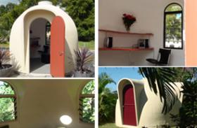 GRC composite dome building system for DIY