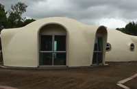 3x 8.0m Diameter Dome Home