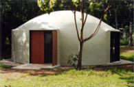 Domeshells - 8.0m Diameter Dome at Stokers Siding