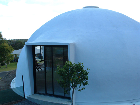 9.5m dia. dome in Ocean Shores
