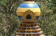 Buddhist World Peace Stupa, Byron Bay