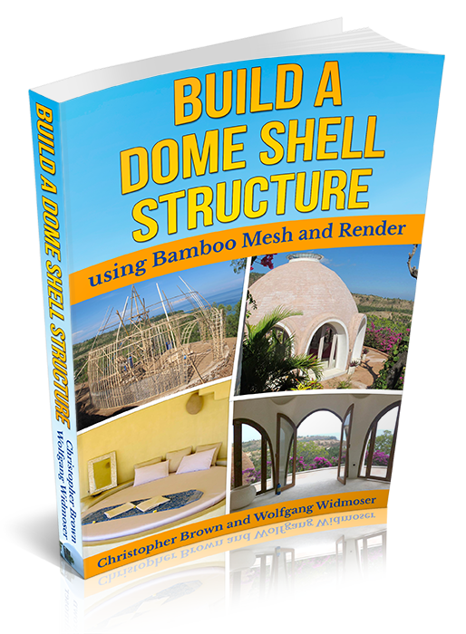 DIY Dome Shell Structure Using Bamboo Mesh and Render