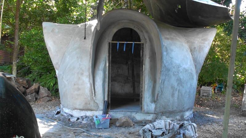 Bamboo Ferro Cement Dome