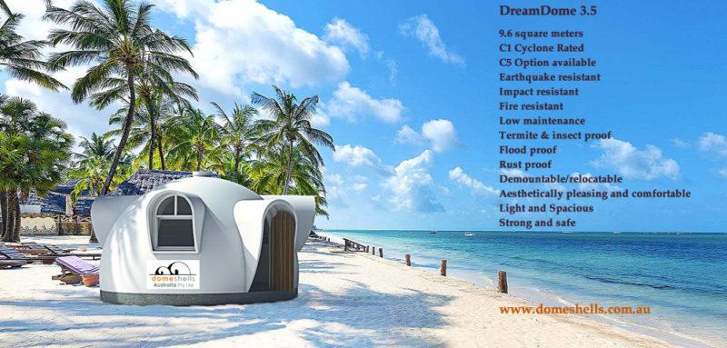 DreamDome - small house design