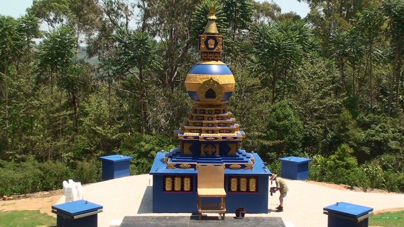 Kalachakra World Peace Stupa Byron Bay